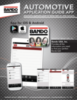 Bando Automotive Application Guide App flier