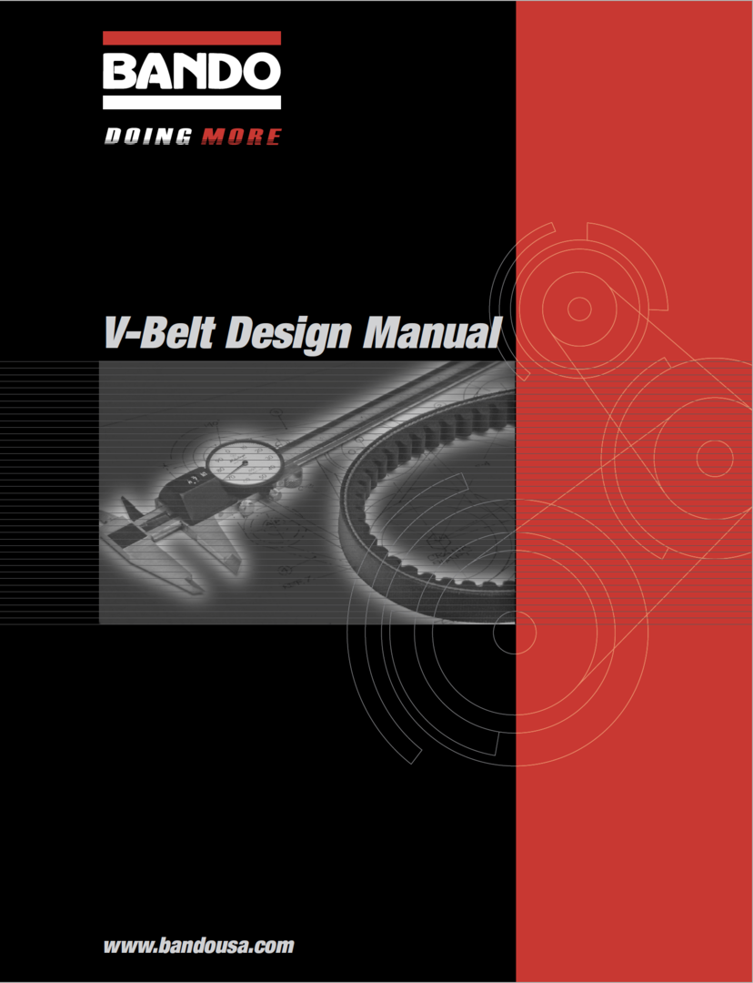BUI 1012-V-belt Design Manual