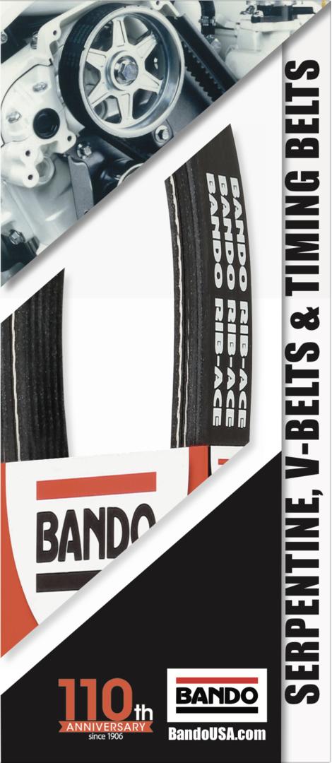 Bando 2016 OEM Data trifold