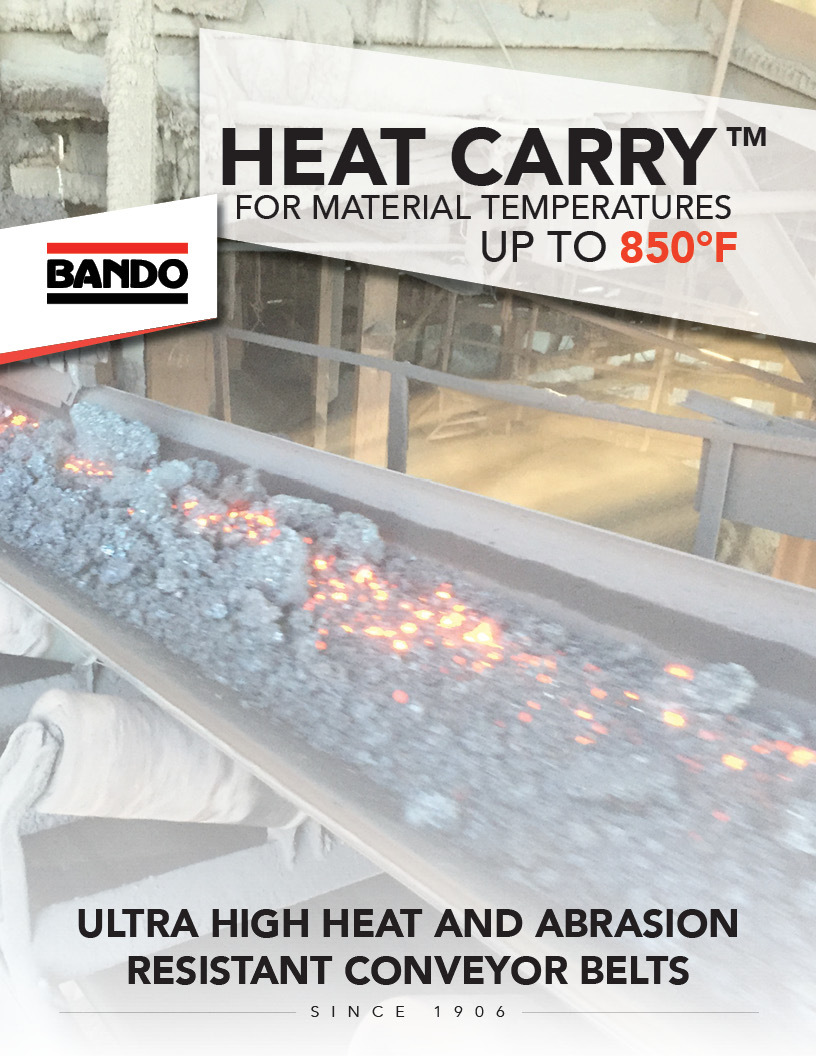 Heat Carry Conveyor Belt