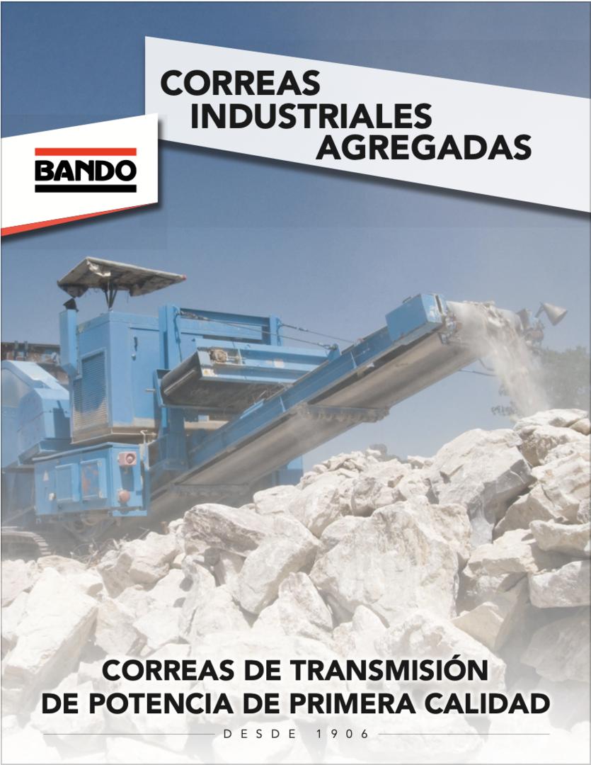 Bando Spanish Aggregate Industrial Belt flier