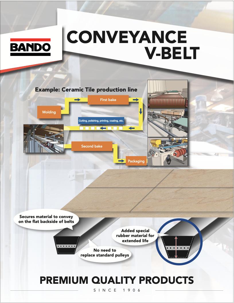 Conveyance V-belt