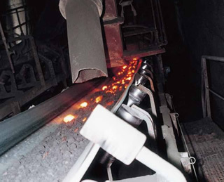Heat Carry Conveyor Belt